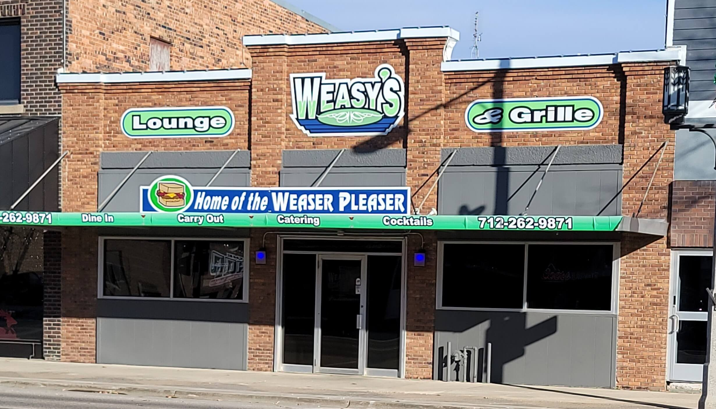 Weasy's Online Ordering Now Available!